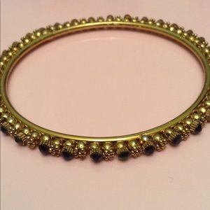 Vintage Crystal stone bangle bracelet
